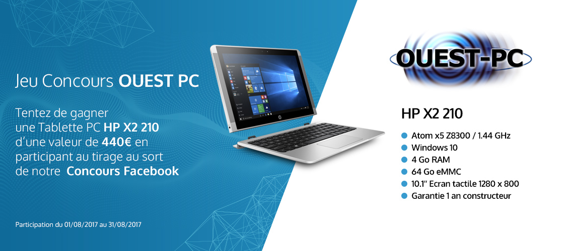Concours facebook Ouest PC