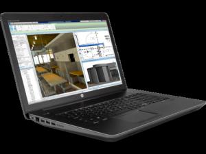 La station de travail HP ZBook 17 G4