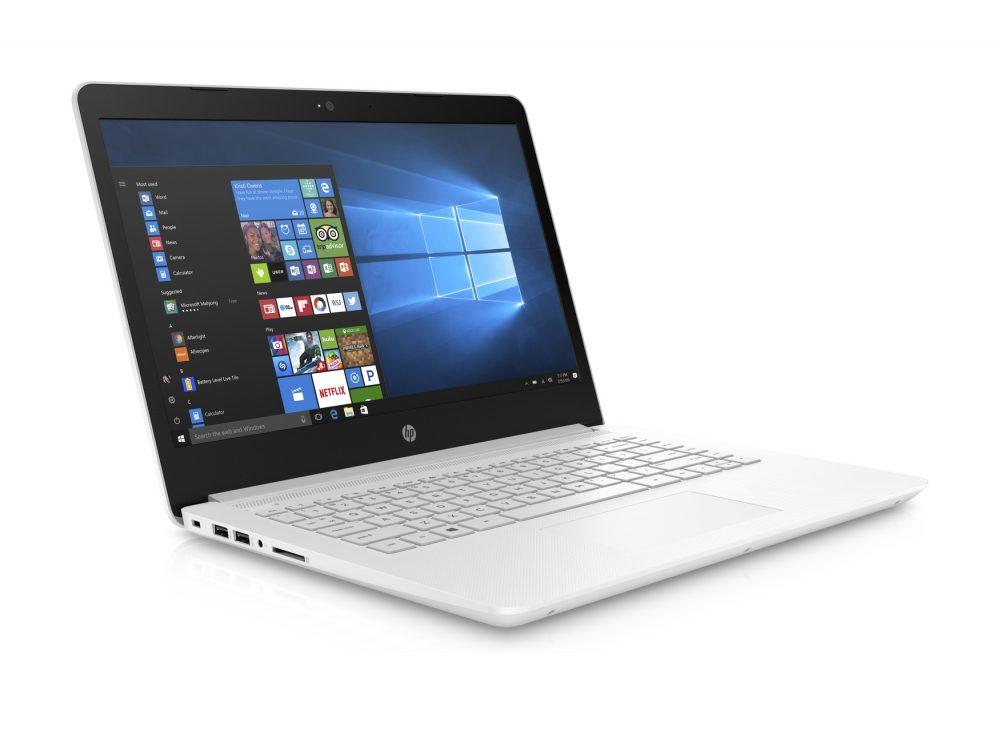 HP portable 14″ blanc