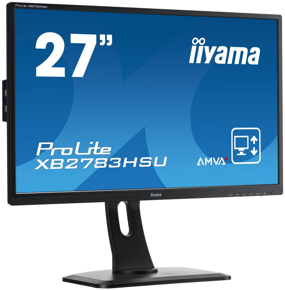 Ecran iiyama 27 pouces prolite dalle ips ecran d for Ecran pc ips 27 pouces