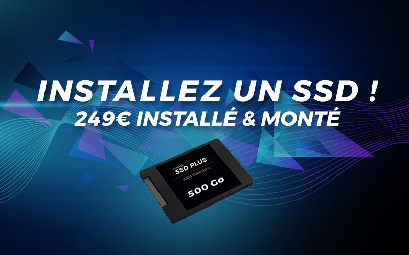 installez un SSD