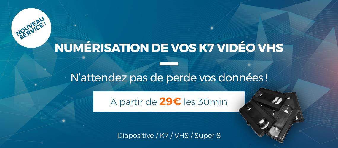Numerisation VHS