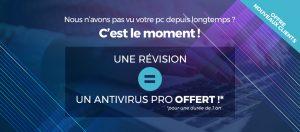 Une révision = Un antivirus Pro offert !